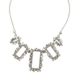 Alexis Bittar Mrs. Havisham open frame necklace